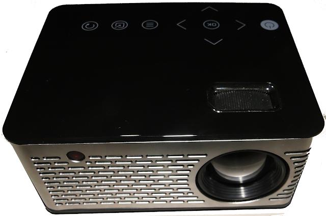 صور للمنتج T200 LCD Home Theater Projector عن قرب :