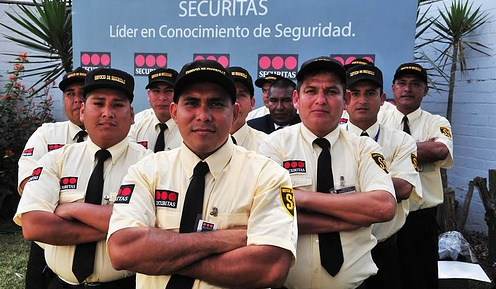 Agentes de Seguridad de La Empresa Securitas Perú