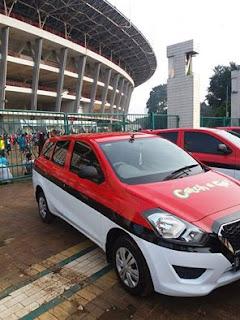 Datsun Go menjadi mobil official Pokemon GO Indonesia.