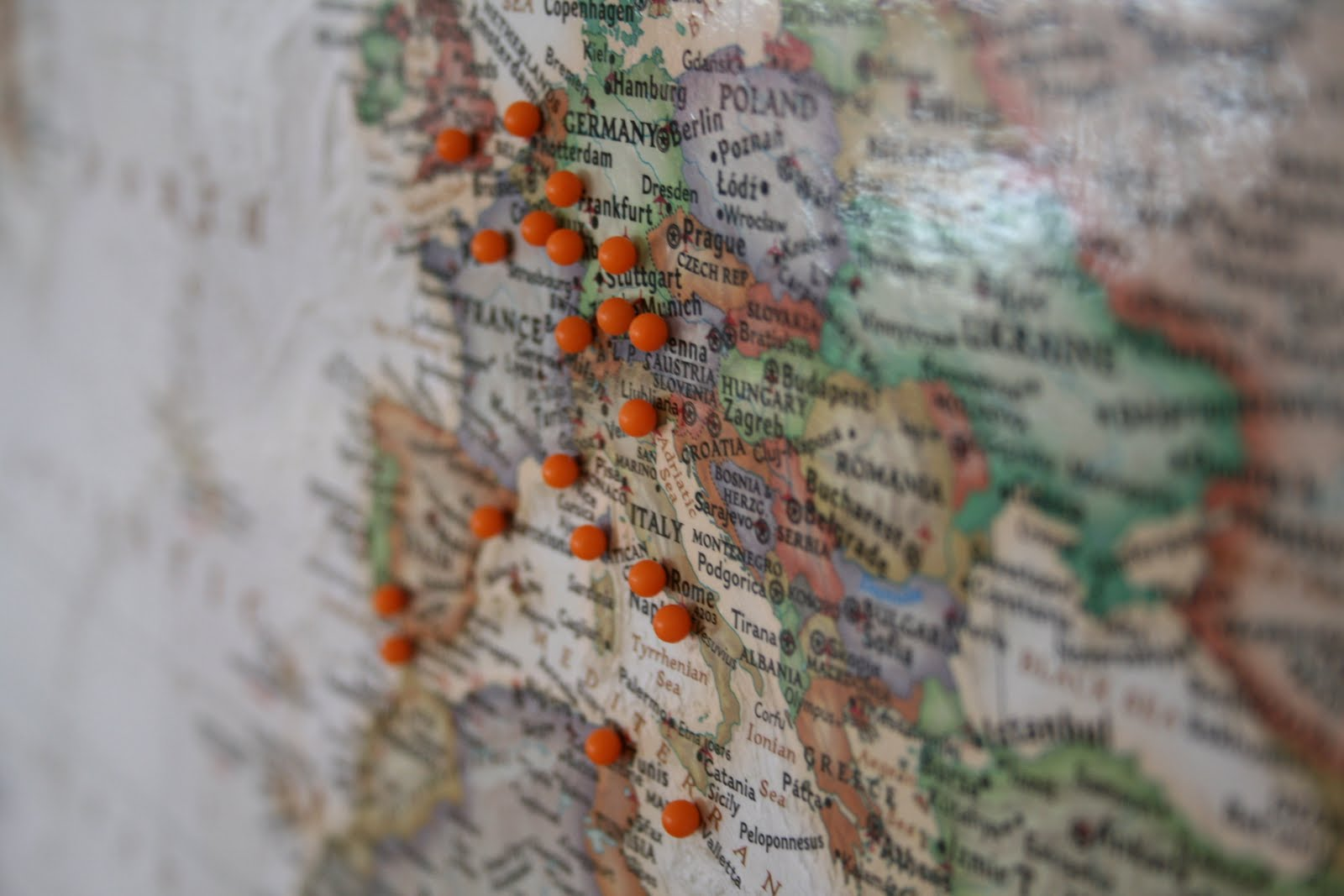 Places You Ve Traveled Map