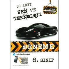 Zeka Küpü 8.Sınıf 30 Adet Fen ve Teknoloji Deneme 2013