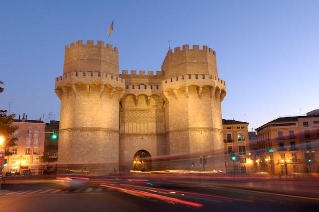 Torre de Serranos em Valência