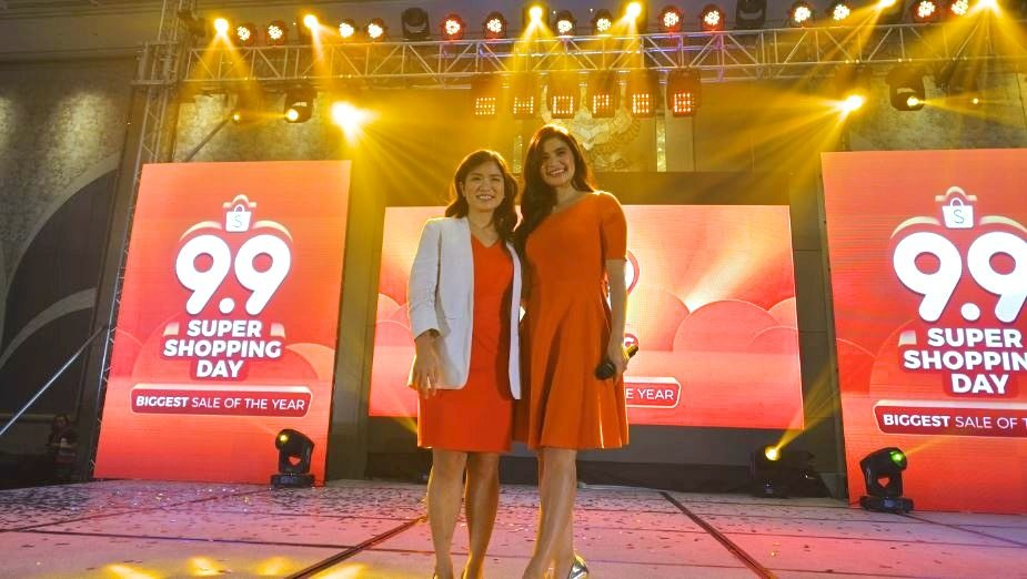 Shopee kicks off 9.9 Super Shopping Day with brand ambassador Anne Curtis