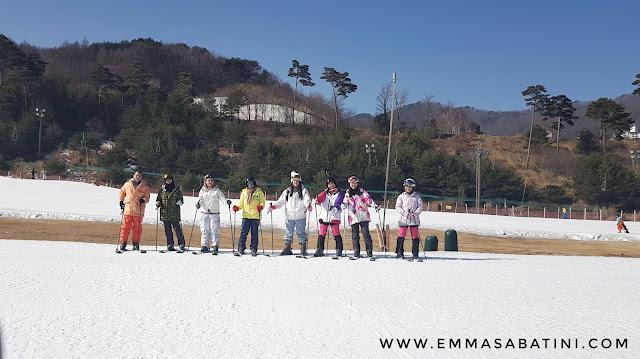 Bermain Ski di Muju Deogyusan Resort