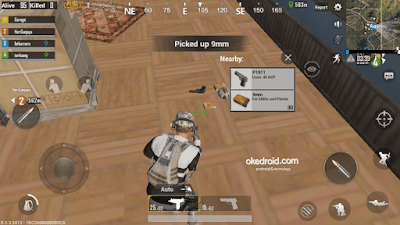 Proses looting senjata di Game PUBG Mobile