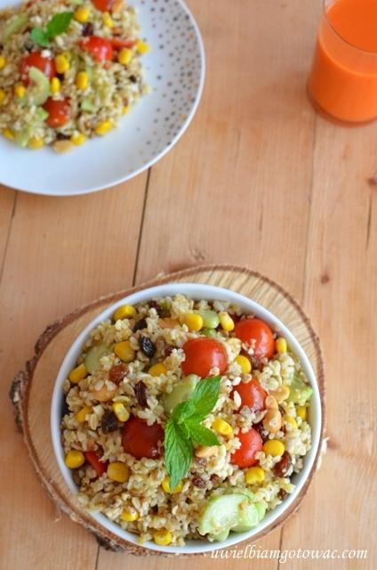 Uwielbiam Gotowac Salatka Z Kasza Bulgur