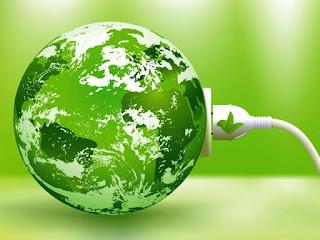 зелёная земля - олицетворение дня эколога