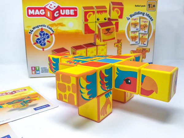 Review: Geomag Animal Magicubes