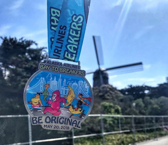 Bay to breakers medal 2018