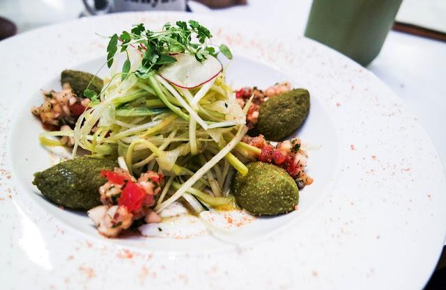 Tanya's Raw Food Cafe Chelsea gnocchi