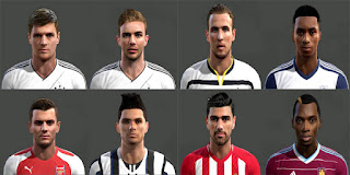 [PES2013] Facepack[02] Pes 2013 by Magicpro