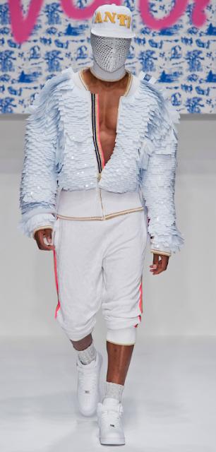 scaled effect - Sibling Spring Summer 2013 - London Men's Fashion week