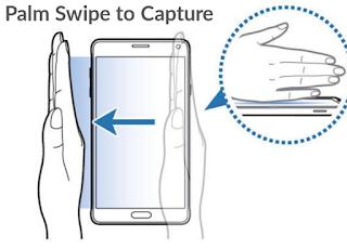 Cara menggunakan fitur palm swipe to capture di hp Samsung
