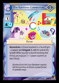 My Little Pony The Rainbow Connection Marks in Time CCG Card