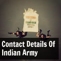 Contact Details Of Indian Army
