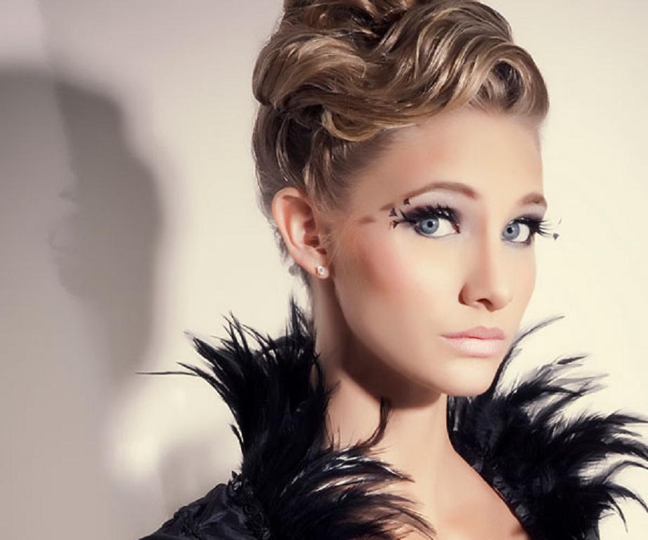 Sensacional peinados pelo medio Colección de estilo de color de pelo - 45 Recogidos para peinados medio 2013 - Peinados cortes de ...