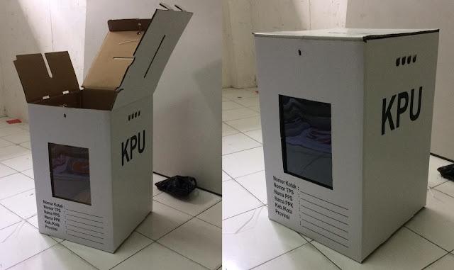 Usul Kotak Suara Dibuat Transparan, Gerindra Kaget Jadinya Kardus