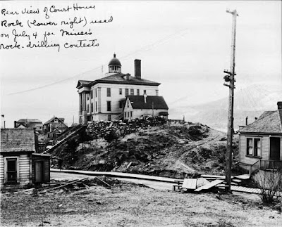 The Juneau Courthouse, Alaska, on April 29, 1922.