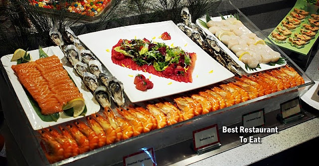 Seafood on Ice For New Year Celebration 2019
