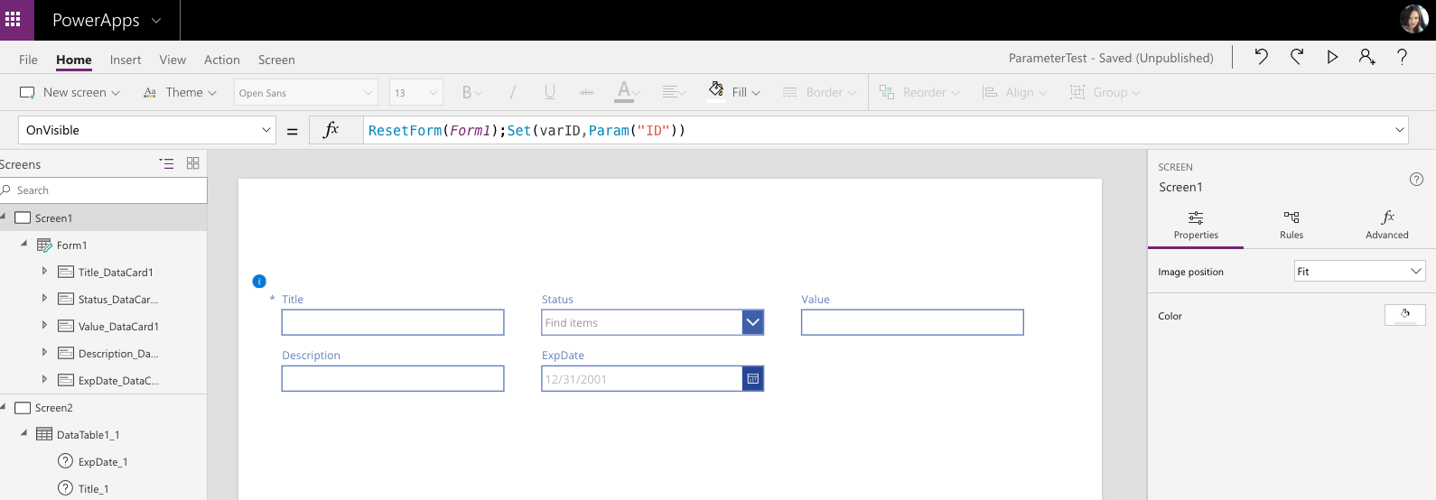Passing Parameters to a PowerApp | April Dunnam - SharePoint