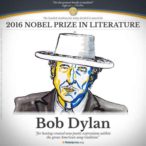BOB DYLAN: Βραβεύτηκε με το Νόμπελ Λογοτεχνίας