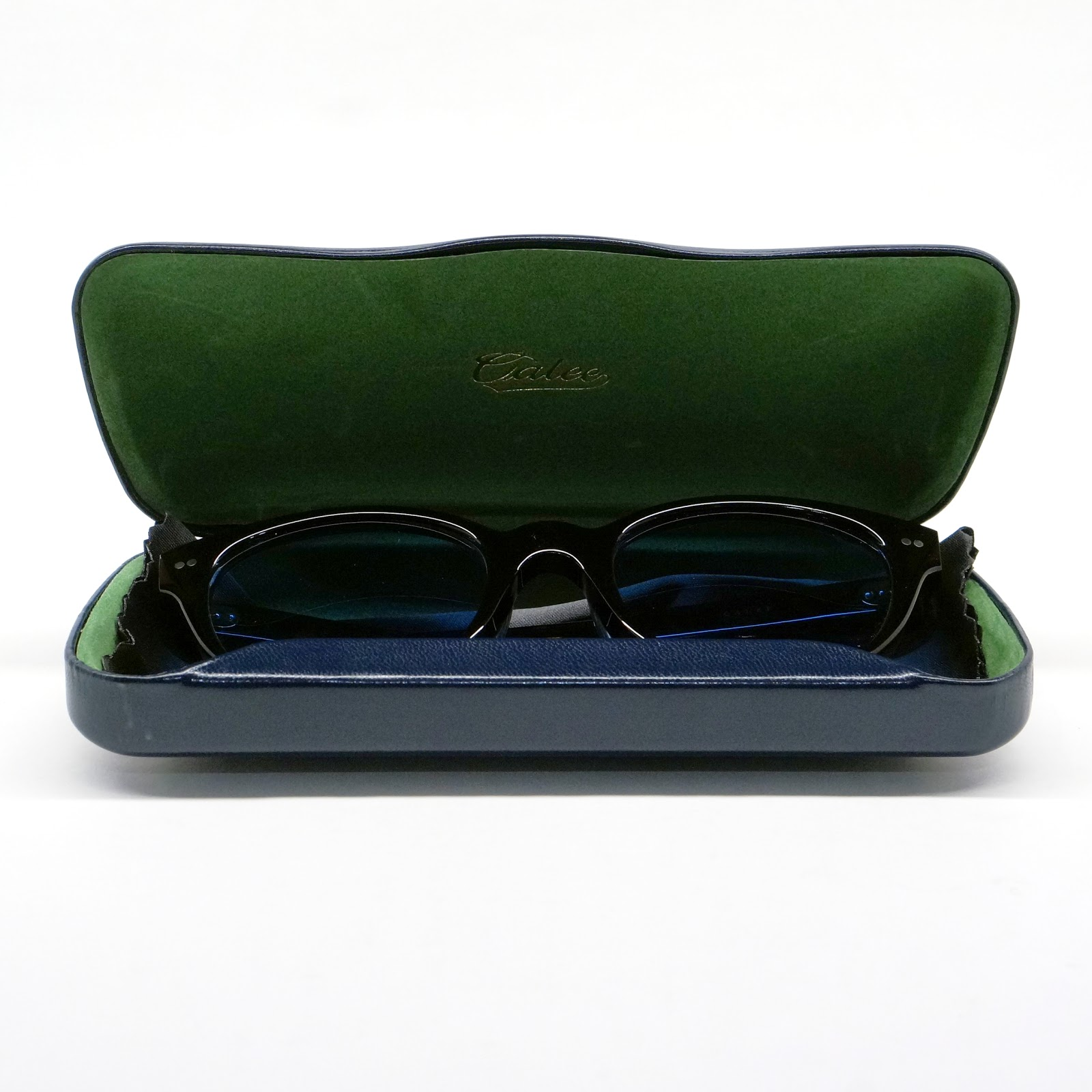 "CALEE ""Boston type glasses"" Price:21,600yen"