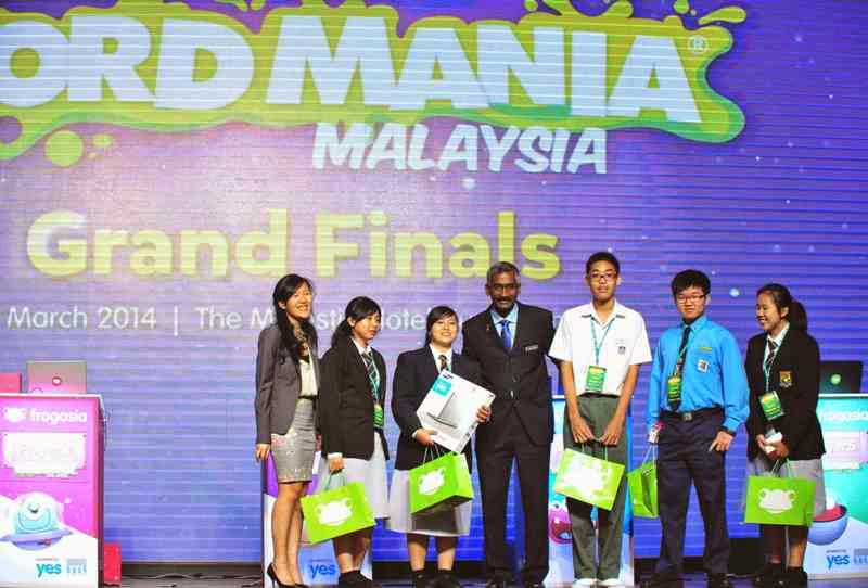 Word Mania Challenge 2014, Samsung 4G Chromebooks, Yes 4G devices, FrogStore vouchers, Yes, ytl foundation, LiteracyPlane, 1BestariNet project