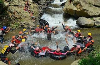 coban jahe river tubing