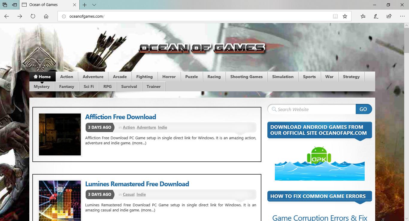 أفضل 10 مواقع لتحميل الألعاب مجانا وبسهولة