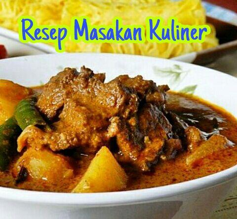 Kari Sapi Tanpa Santan, resep kari daging sapi tanpa santan