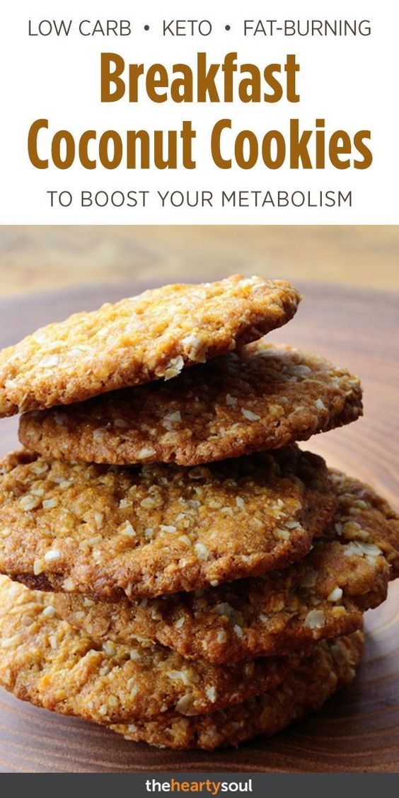 Coconut Protein Cookies