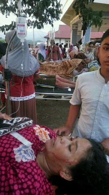Korban Jiwa Gempa Aceh
