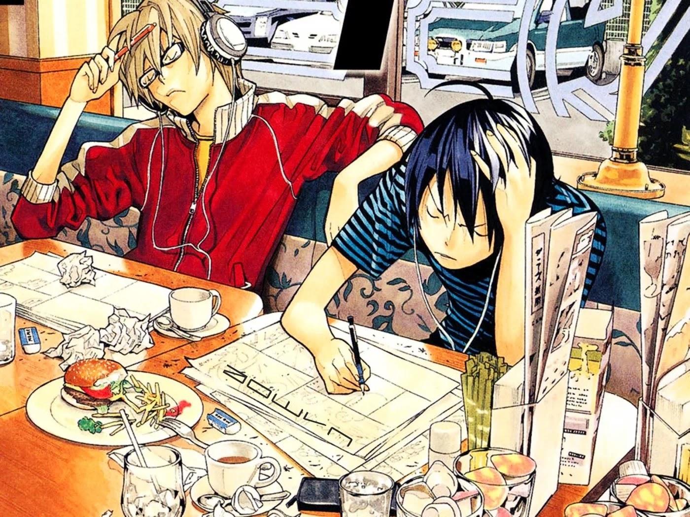 bakuman aowvn%2B%25283%2529 - [ Anime 3gp Mp4 ] Bakuman SS1 + SS2 + SS3 | Vietsub - Cuộc Đời Mangaka