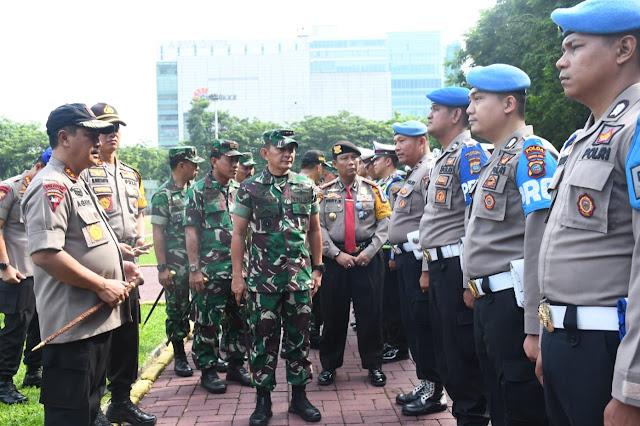 Personil Kodam I/BB dan Polda Sumatera Utara Siap Amankan Putusan Pemilu 2019