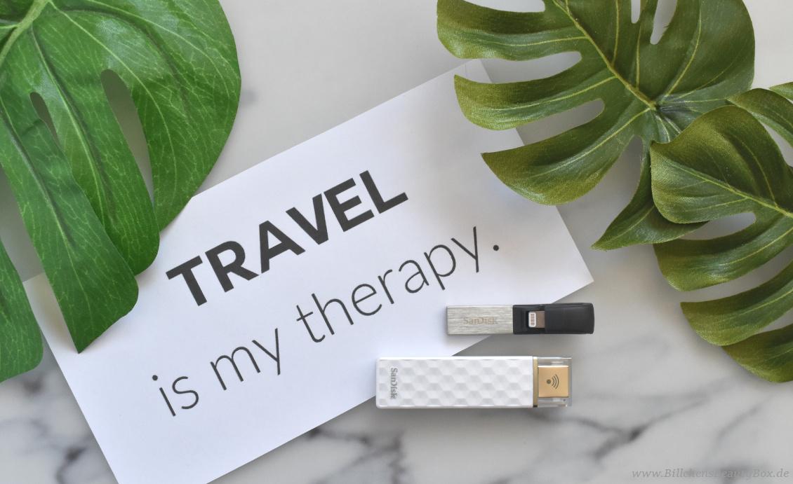 Reise Essentials & Must Haves - Datensicherung fürs Handy mit SanDisk