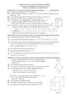 Subiecte evaluare nationala 2017 - matematica simulare Braila