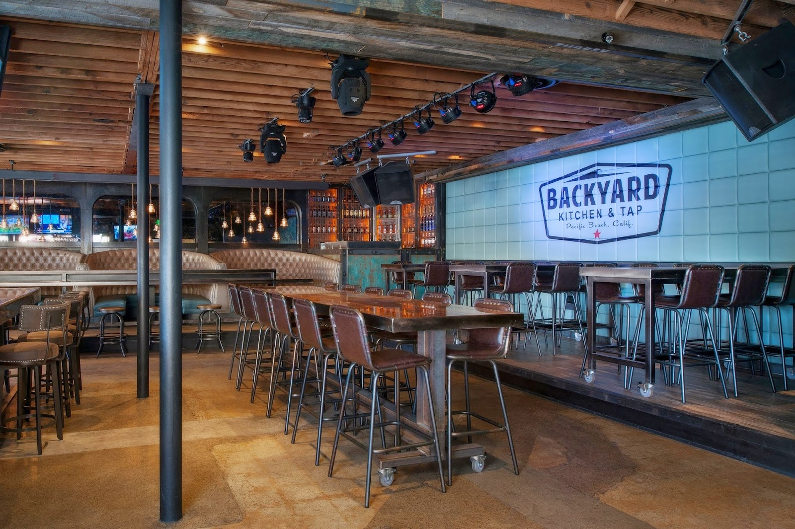 Come Play At Backyard Kitchen U0026 Tap | Pacific Beachu0027s New Grub And Brew  Hotspot