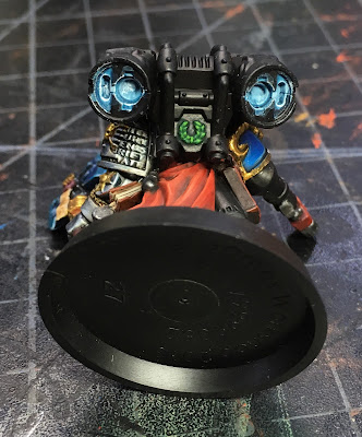 Deathwatch Librarian with Jump Pack WIP OSL detail on jump jets