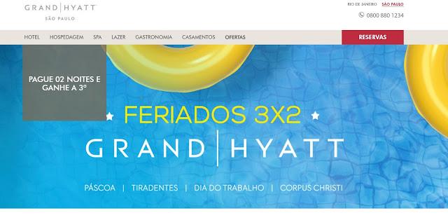 Grand Hyatt São Paulo feriado