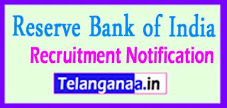 RBI (Reserve Bank of India) Recruitment Notification 2017  Last Date 23-05-2017