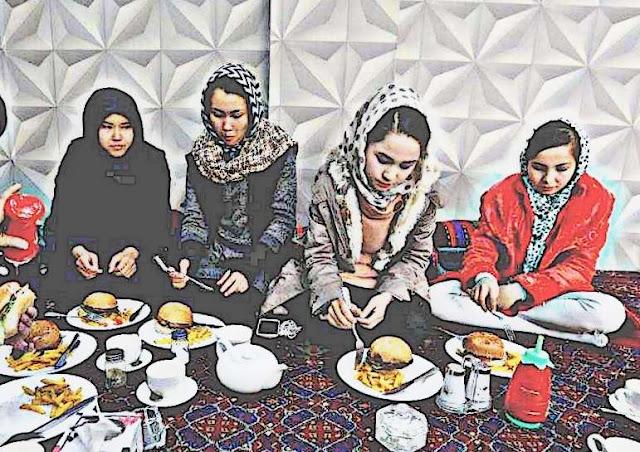 Haidaryan Jadi Tanda Dominasi Dunia Rumah Makan Perempuan Afghanistan