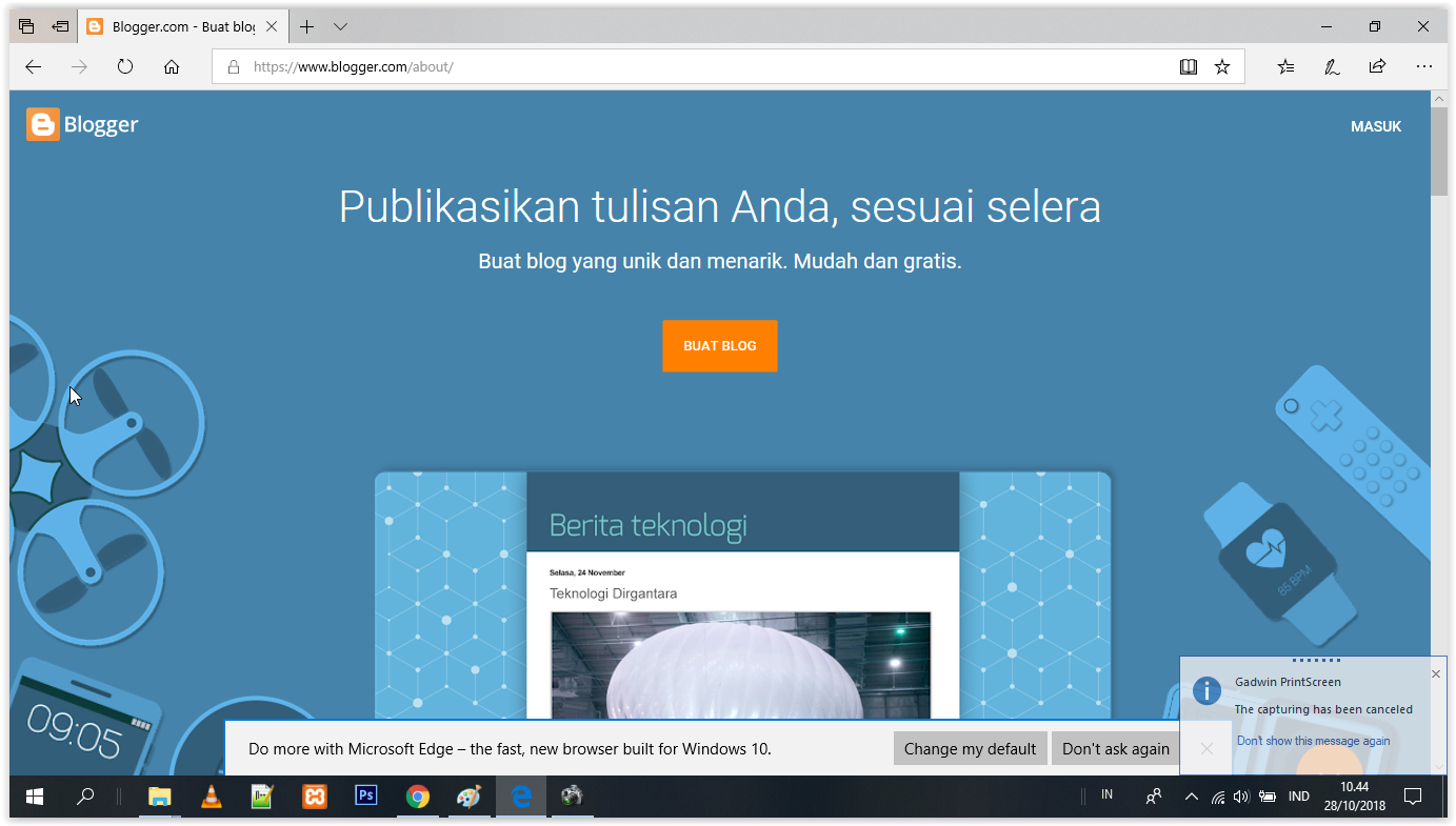 Login blogger.com