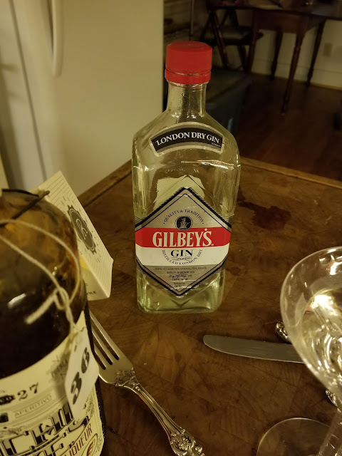 Gilbey's Gin is one of my favorites.