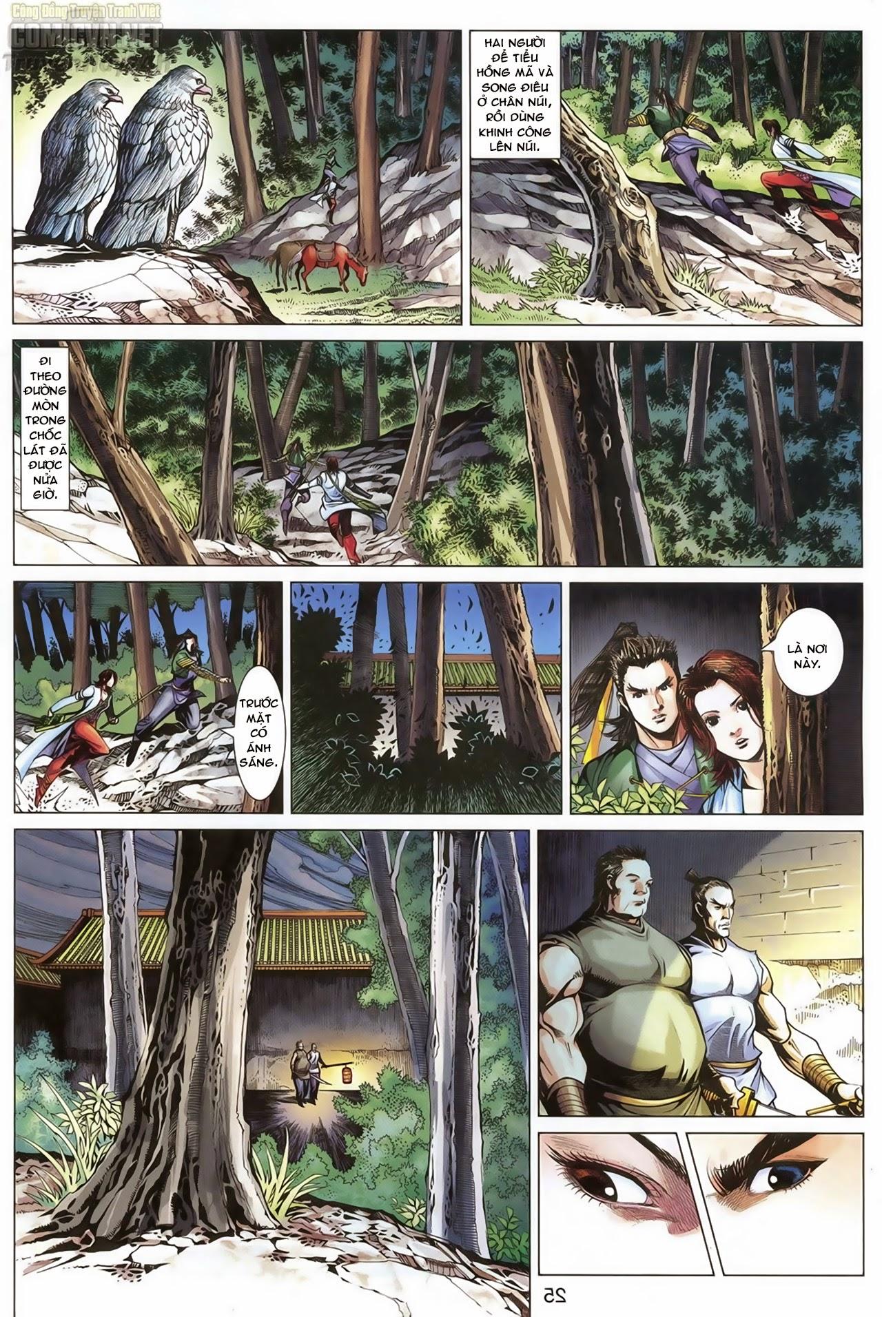 Anh Hùng Xạ Điêu anh hùng xạ đêu chap 68: di thư chân kinh - lừa tình trang 26