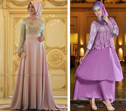 model baju brokat muslim terbaru