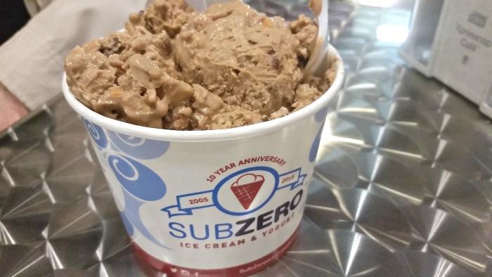 Sub Zero Ice Cream Cake