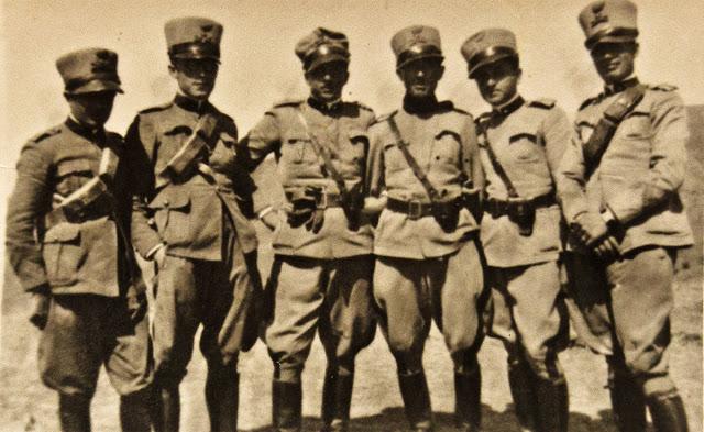 Lo zio di Federico De Leonardis nell'esercito italiano