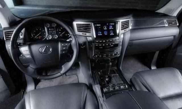 2017 Lexus LX 570 Redesign, Specs