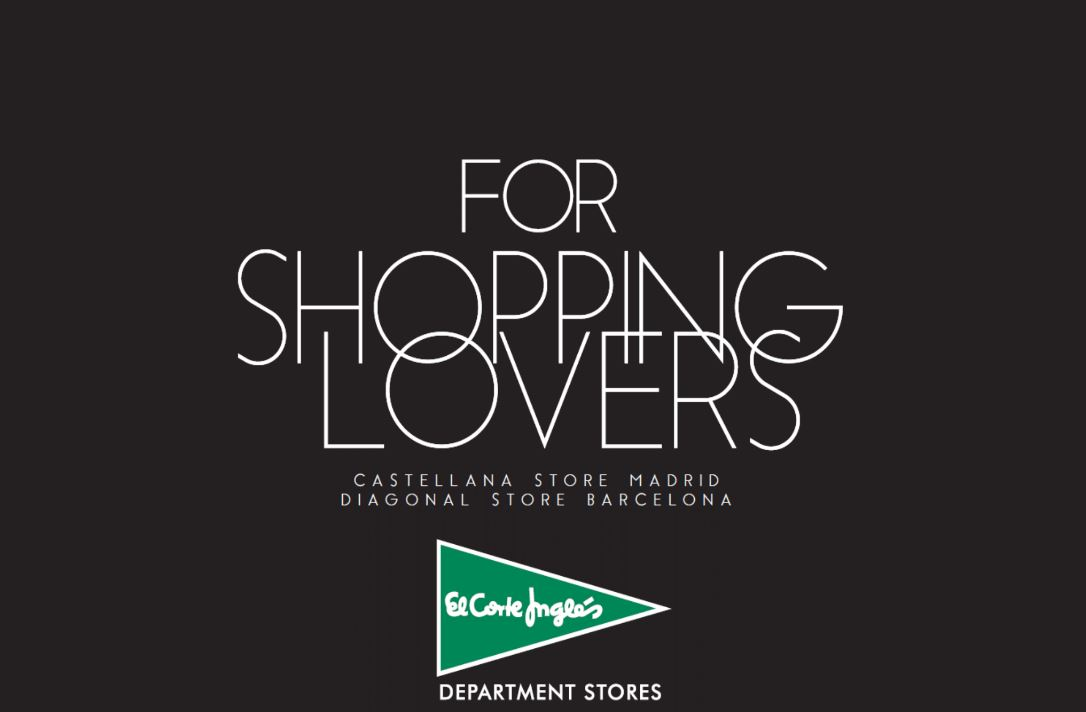 For Shopping Lovers El Corte Ingles
