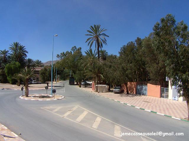 Centre du village de Taghjijt